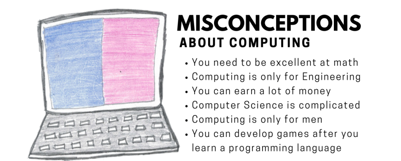 Misconceptions about computer science, computing, and programming