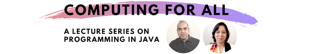Java Programming Lecture Series