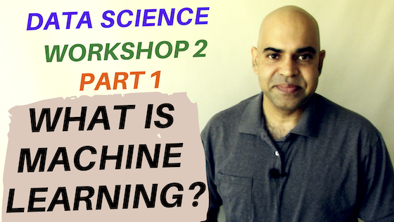 What is machine learning? (Workshop 2 Part 1)