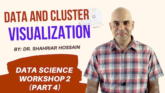 Workshop 2, Part 4: Data and Cluster Visualization