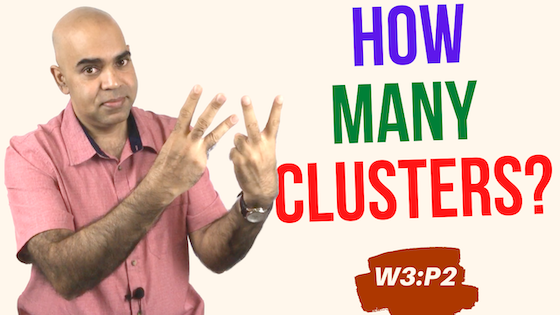 Workshop 3 Part 2: Finding optimal number of clusters